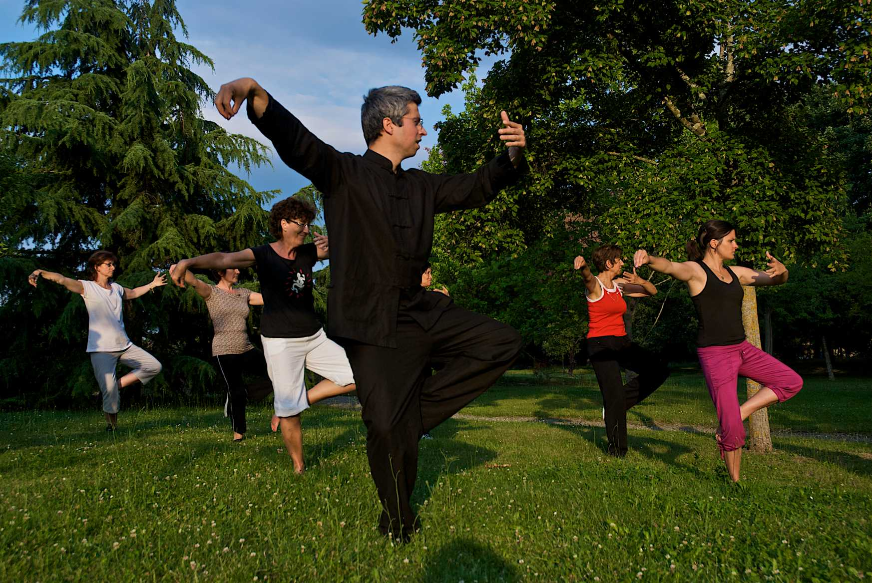 le simple fouet en tai chi